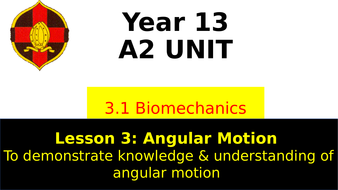 ocr a level pe angular motion by charbarrell teaching resources tes
