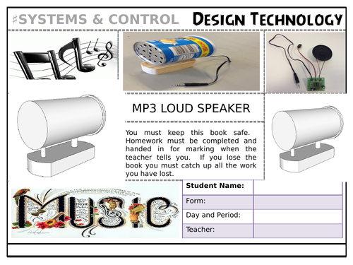 Complete MP3 Speaker Electronics Project and SOW