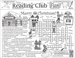 Merry Christmas: Santa Claus' Workshop and Christmas Customs Puzzle Set