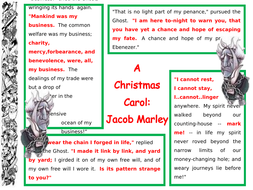 A Christmas Carol - Key Quotations A3 Printable posters x 8 GCSE Literature   Teaching Resources