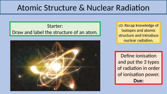 Atomic Structure & Nuclear Radiation