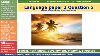 AQA-paper-1-question-5_sunset_creative-descriptive-writing-task.pptx