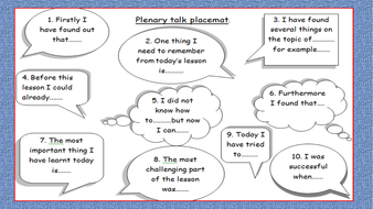Plenary-placemat-and-Exit-card.pptx