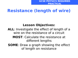 how the length of a wire affects the resistance