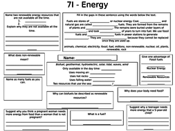 Year 7 Physics Revision Science by mollshaworth | Teaching Resources