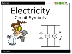 Electricity Circuit Symbols PowerPoint by BunyipBlues