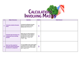 Calculations-involving-Masses-Knowledge-Check---Higher-Blank.pdf