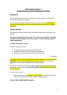 AQA Language Paper 1 Question 4 Reading Advice