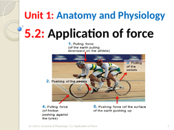 IGCSE PE (new spec 2018) 5 2  Application of Force