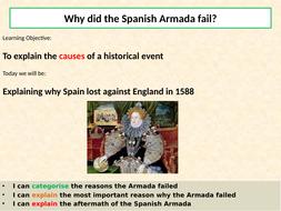 why the armada failed