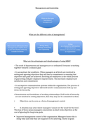A level Business Management and Leadership Whole Lesson Resources