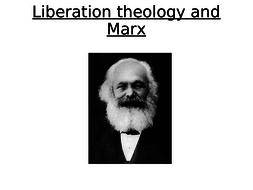 OCR A Level Liberation Theology  Orthodoxy and Orthopraxis