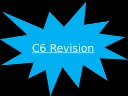 AQA Triple C6 and C7 Revision PowerPoint Quiz