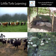 Farm Animal Photos - Photo Pack 3 - Personal or Commercial Use