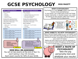 Gcse psychology coursework