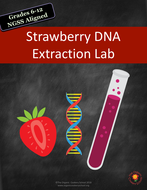 Strawberry Dna Extraction Lab Us Version Teaching Resources