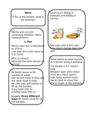 Metric conversion and imperial conversion Y5