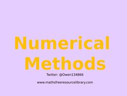 10)-Numerical-Methods.pptx