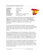 Francisco Franco y la Guerra Civil: Franco Dictatorship and Spanish Civil War