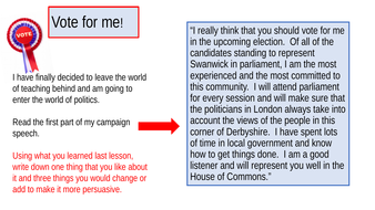 why you should vote persuasive speech