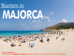 the impacts of tourism on majorca A case study of tourism in an medc - menorca menorca is the second largest of the spanish balearic islands in the mediterranean sea it has a population of 67,000 and it has a total land area of 702km2.