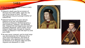 Basic powerpoint on Richard 3rd