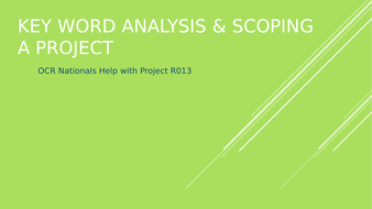 Key-word-analysis---Scoping-a-project.pptx