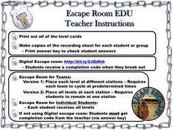 Solving Radical Equations Game Escape Room Math Activity By
