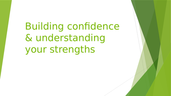 Employability Skills: Building your Strengths, Confidence and Skills