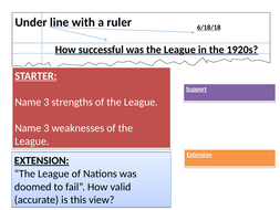 was the league of nations a success