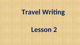 GCSE Englis 9-1 - Travel Writing Theme