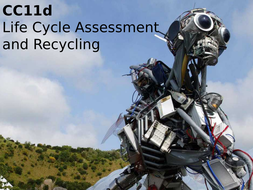 Edexcel CC11d Life Cycle Assessment and Recycling