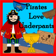 PIRATES LOVE UNDERPANTS story resources pack