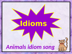 Animals idiom song