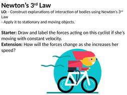 newton s 3rd law of motion by yllkaemini teaching resources tes