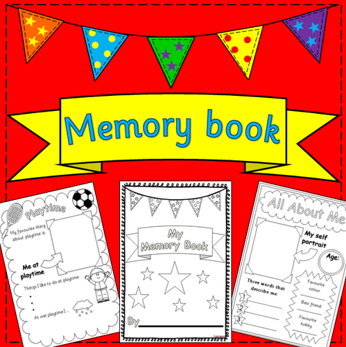End of the Year Memory book- end of term