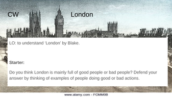 London by William Blake - full annotations and analysis