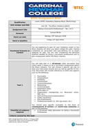 Unit 38 - The Music Freelance World Workbooks & Resources