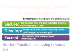 chromatography questions and answers