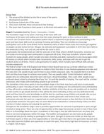 IGCSE PE (spec 2018) 10.2: The sports development pyramid