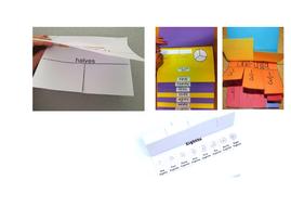 Fraction flip book template by clenghaus teaching resources tes fractions flip bookpdf maxwellsz