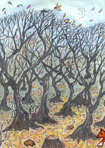 Wild Woods at Twilight - Imagination Trigger