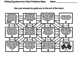 writing equations from word problems pdf