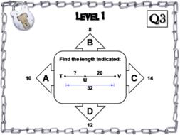 Segment Addition and Angle Addition Postulates: Geometry