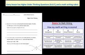 Grade 4 Math Module 5 Topic D, lessons 16-21: Smart Bd, Stud Pgs, Mid-Mod  Review