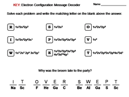 additionally mon Worksheets » Electron Configuration Worksheet Answers together with Electron Configuration worksheet together with Electron Configuration Worksheet Answers Luxury Collection Of also Electrons And The Periodic Table Worksheet Answers moreover  likewise Electron Configuration Practice Worksheet Answers   Mychaume further Electron Configuration Worksheet Answer Key   Proga   Info likewise  as well  besides Electron Configuration Evaluation   Key   2 4f 14 5d 6 osmium 15 Rn as well POGIL  Electron Configuration and Orbitals Model 1  Orbitals additionally Electron Configuration Worksheet 2 Answers   Worksheet   Spreadsheet together with Electron Configuration Worksheet Video  with Key    YouTube besides  besides Electron Configuration Worksheet  Chemistry Message Decoder by. on electron configuration worksheet answer key