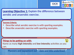 what is the difference between aerobic and anaerobic fitness