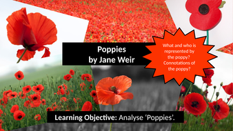 Poppies Aqa Power And Conflict Poetry Lesson Lesson 12 By