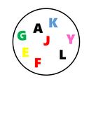 Alphabet Spot the Match Game