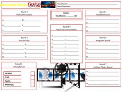 Animated-Movies-Answer-Sheet.pptx